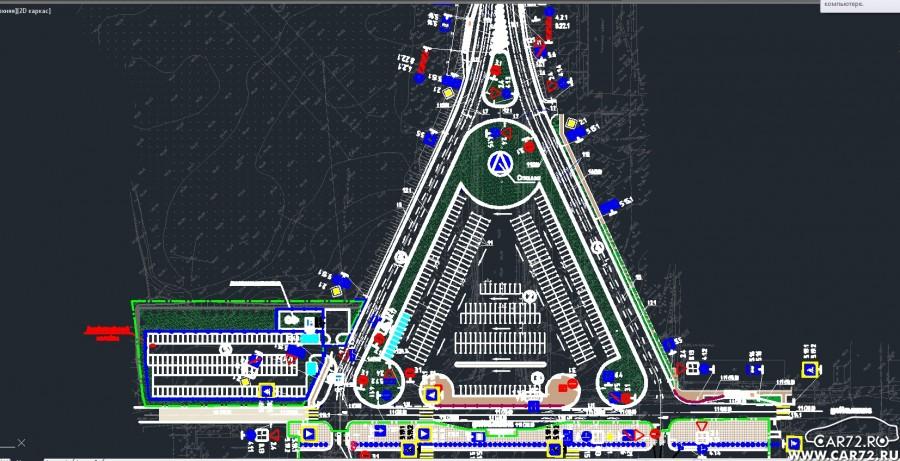 Аэропорт Рощино в г. Тюмень - адрес, схема проезда 86