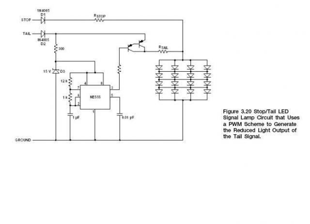 Помогите расчитать какой ёмкости надо поставить резистор, который ставиться между третьей ногой 555-ого таймера и.